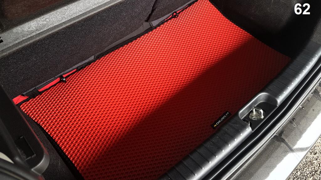 Наш EVA коврик в багажнике Chevrolet Aveo '08-11 Хетчбек T255
