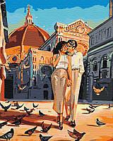 "Картина по номерам. Brushme ""Любовь и голуби"" GX30468"