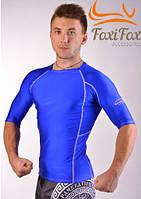 Рашгард для MMA (синий), фото 1