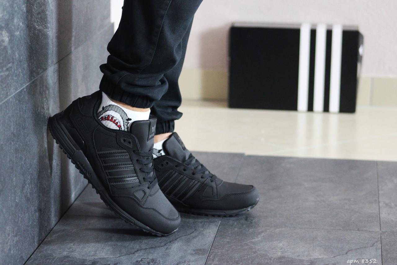 Мужские кроссовки Adidas ZX 750 (черные)