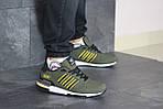 Чоловічі кросівки Adidas ZX 750 (темно-зелений), фото 3