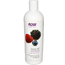 "Кондиционер для объема волос NOW Foods, Solutions ""Berry Full Conditioner"" с ароматом ягод (473 мл)"