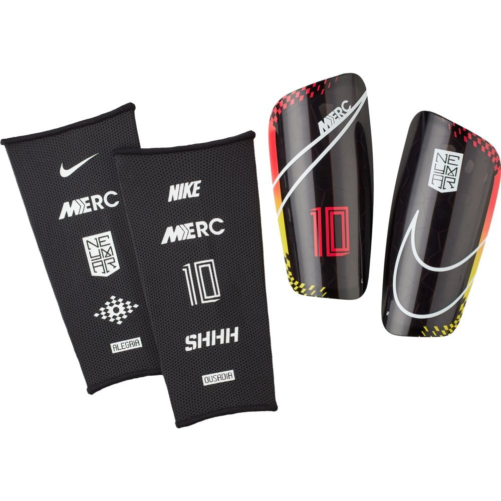 Щитки футбольные Nike NJR Mercurial Lite SP2170-610 Черный Размер XS (193145984080)