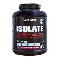 Протеин WEIDER ISOLATE WHEY 100 CFM Strawberry Ice Cream 2 kg