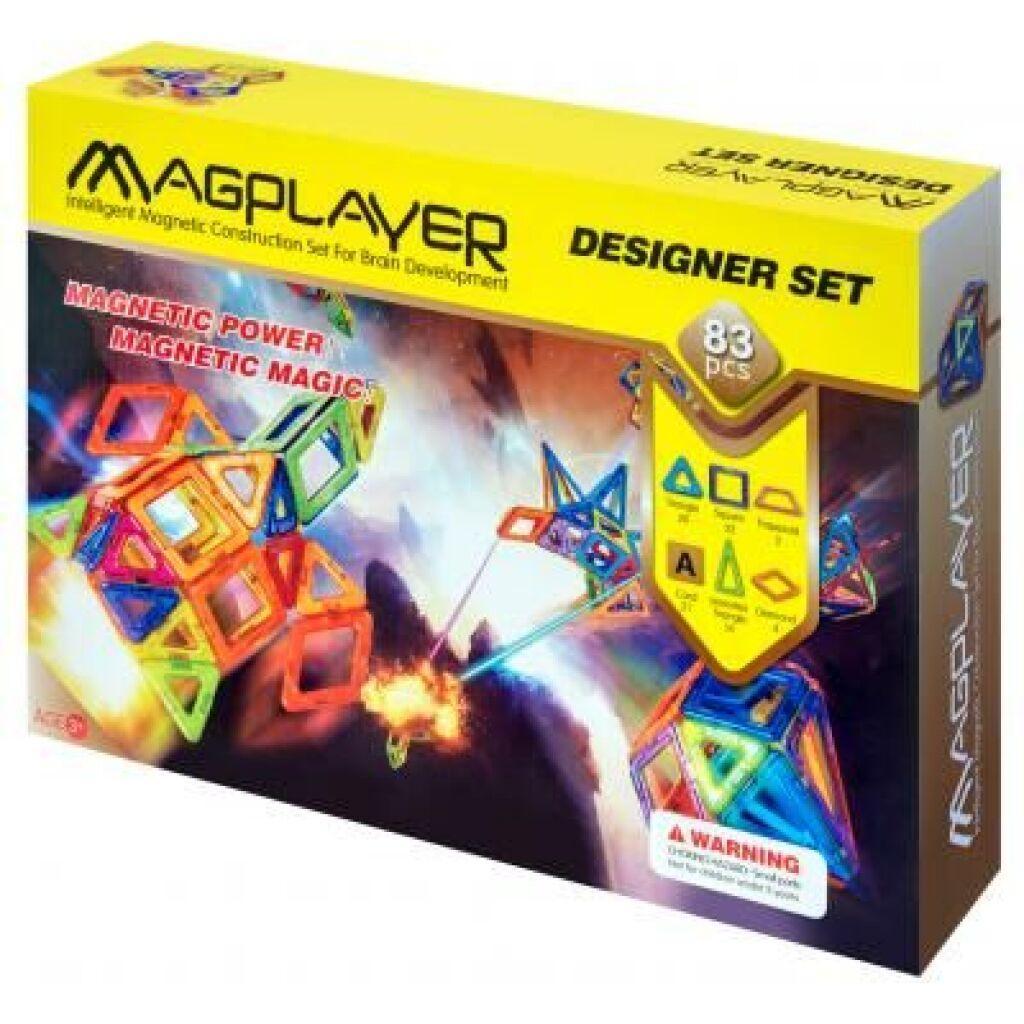 Конструктор Magplayer Набор 83 элемента (MPA-83)