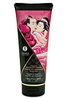 Съедобный крем для эротического массажа Малина Shunga Massage Raspberry Feeling 200 ml Шунга