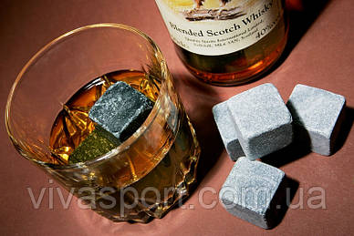 Камни для охлаждения напитков Whisky Stones Виски Стоунс