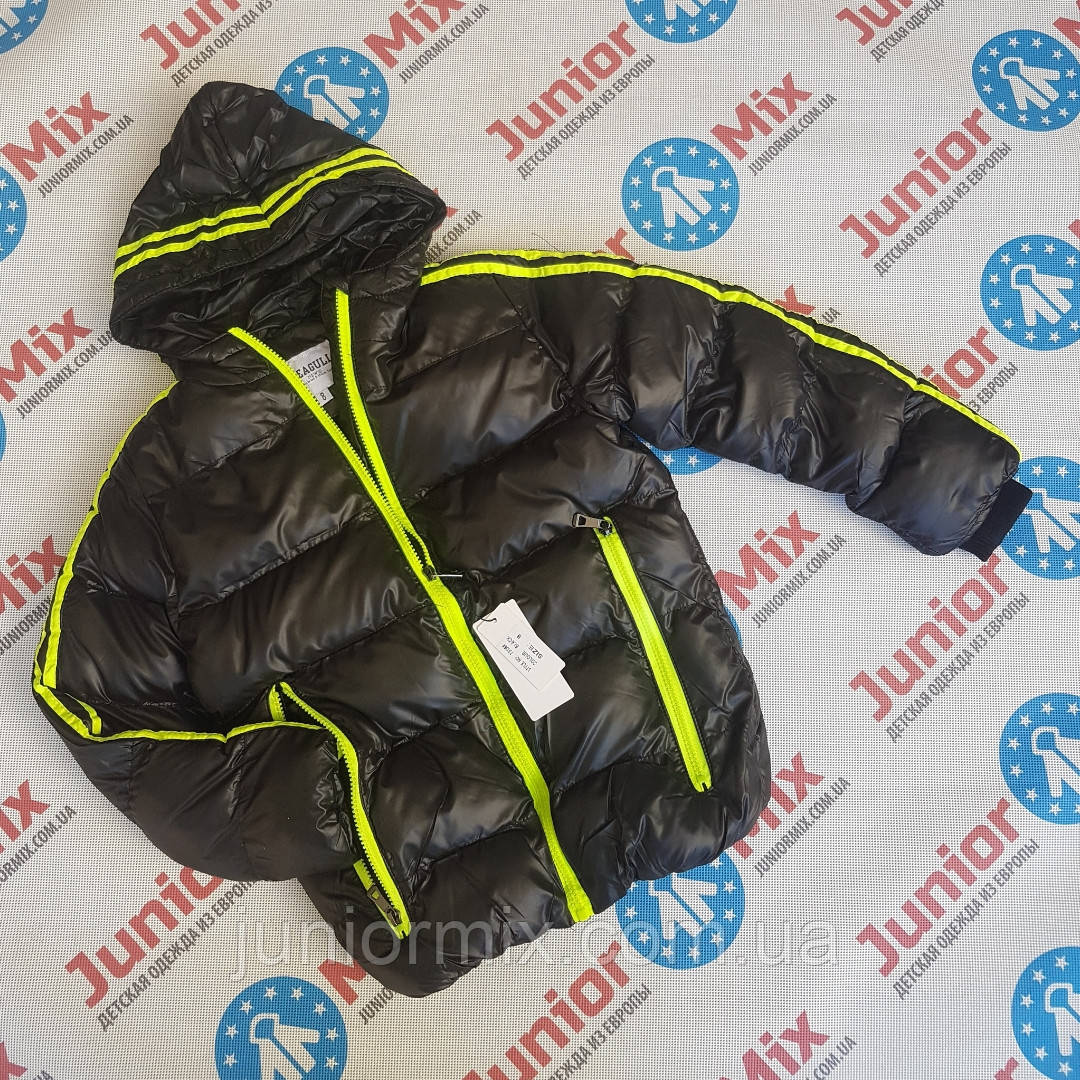 Подростковые теплые куртки для мальчиков евро зима  оптом SEAGULL