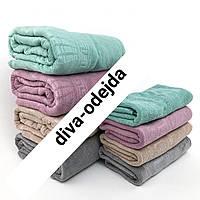 Комплект полотенец из микрофибры сауна и лицо,разные цвета.