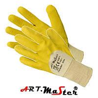 Перчатки стекольщика покрытые латексом ARTMAS