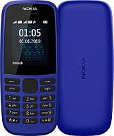 Мобильный телефон Nokia 105 2019 Dual Sim Blue
