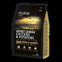 Сухой корм Profine Dog Adult Large Breed Chicken & Potatoes (для крупных пород, курица)