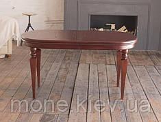 Обеденный овальный стол Ретро с конусными ножками