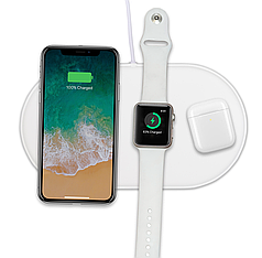 Беспроводная зарядка AirPower для Apple iPhone, Apple Watch и наушников Apple AirPods