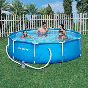 Каркасный бассейн BestWay 366х100 см (56260), фото 2