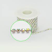Стразовая цепь ( стекло ) SS 6 в ассортименте