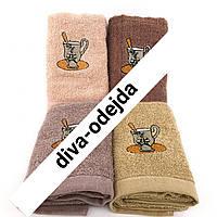 Махровое кухонное полотенце пастельных тонов.Размер : 0,35 x 0,75