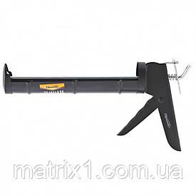 """Пистолет для герметика, 310 мл, """"полуоткрытый"""", круглый шток 8 мм, утолщенные стенки// SPARTA"""