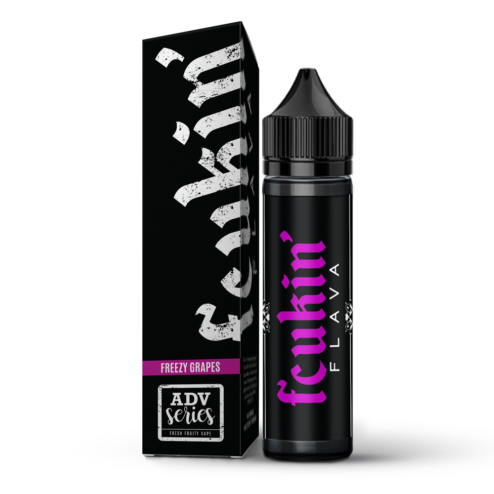 Fcukin Flava Freezy Grapes (60ml)