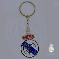 Стильный брелок для ключей  с эмблемой футбольного клуба Real Madrid