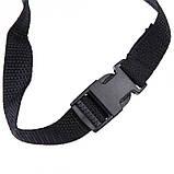 Черный намордник для собак размер № 1, фото 6