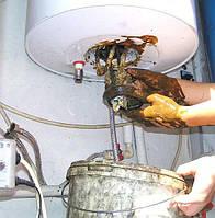 Чистка электрических водонагревателей бойлеров от накипи в г. Луцк, ремонт водонагревателя  Волынская область