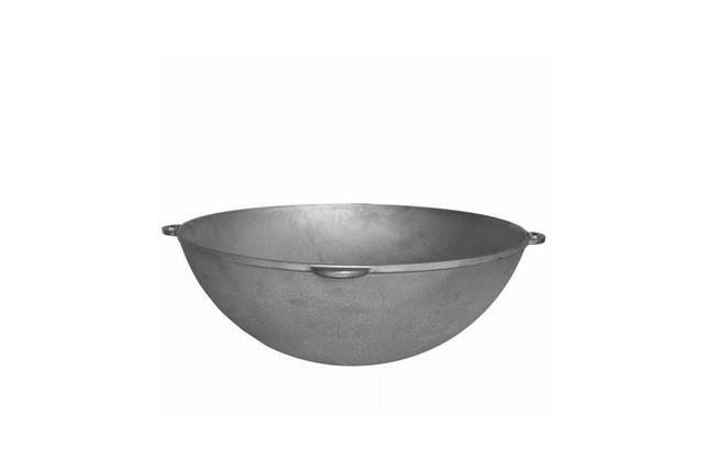 Казан чугунный Биол - 580 х 230 мм х 40 л, татарский с крышкой, фото 2