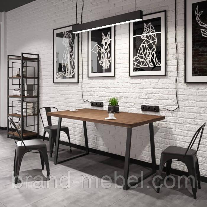 Стіл обідній Бінго Оверлайт (стіл обідній Бінго) в стилі Лофт Loft