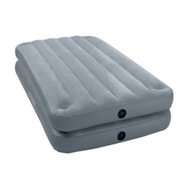 Односпальная надувная кровать Intex 2 IN 1 AirBed  без насоса 99х191х46 см (67743)