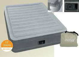 Надувная кровать Intex Comfort-Plush Mid Rais Airbed + встроенный электронасос 191х137x33 см (67768), фото 2