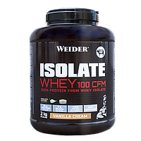 Протеин WEIDER ISOLATE WHEY 100 CFM Vanilla Cream 2 kg