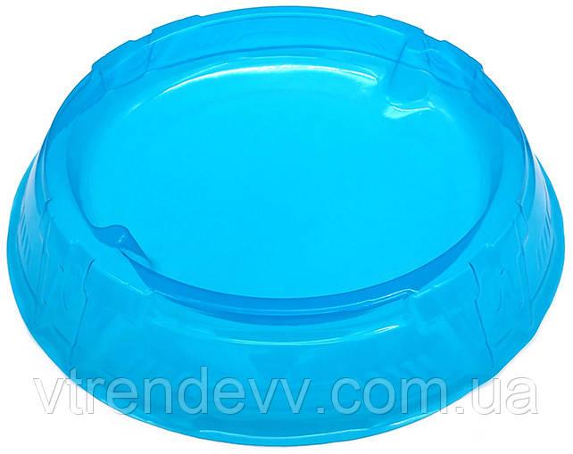 Арена круглая пластиковая гибкая Бейблэйд Beyblade 46 см синяя