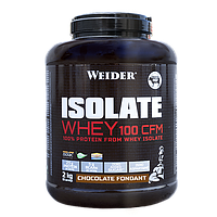 Протеин WEIDER ISOLATE WHEY 100 CFM Chocolate Fondant 2 kg