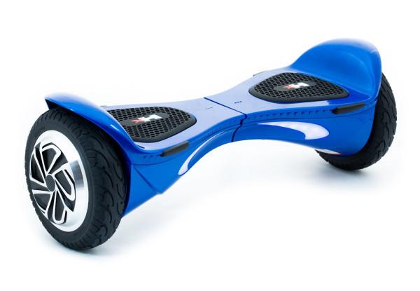 """Гироборд HX X1 Luxury 8"""" Blue (Super LED, HD, App, рюкзак) Classic"""
