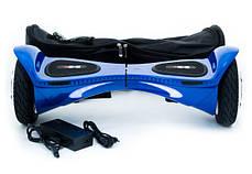 """Гироборд HX X1 Luxury 8"""" Blue (Super LED, HD, App, рюкзак) Classic, фото 3"""