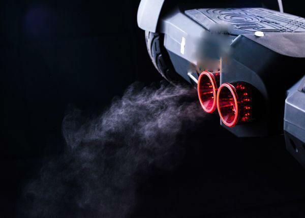 "Гироборд Smartway Jet + App 8"" Velocity Black (LED, App, паровая турбина) Classic"