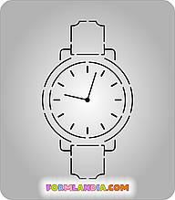 Трафарет + формочка-вирубка для пряників Наручний годинник