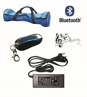 Гироборд Classic 6.5′ Digital Carbon (Приложение к телефону, Самобаланс, Led, Bluetooth, сумка), фото 2