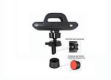 Беспроводное зарядное устройство - автомобильный держатель для телефона Qitech Sensor Auto, цвет черный, фото 3