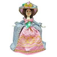 Кукла фарфоровая коллекционная Барышня