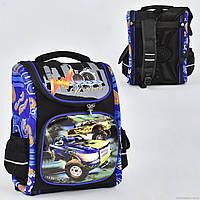 Рюкзак школьный каркасный N 00133 1 отделение, 3 кармана, спинка ортопедическая, 3D принт