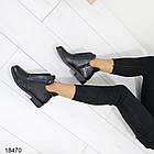 Женские ботинки черного цвета, из эко кожи 41 ПОСЛЕДНИЙ РАЗМЕР, фото 5