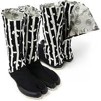 Японская дизайнерская обувь — ниндзя шуз модель Бамбук черный