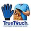 Перчатка для вычесывания шерсти животных True Touch Тру Тач, фото 3