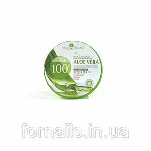 Увлажняющий гель алое, May Island Aloe Vera 100% Moisture Soothing Gel 300 мл