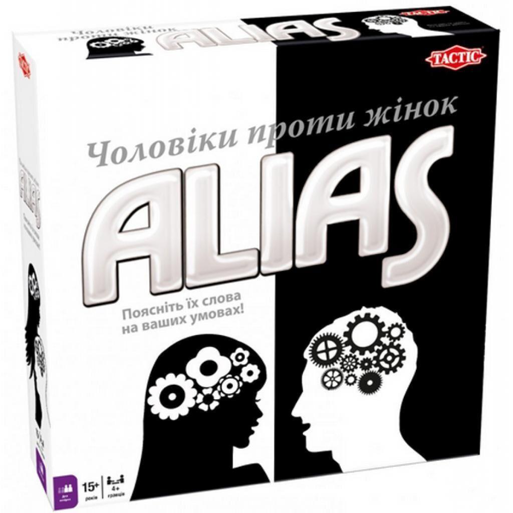Настольная игра Tactic Элиас Мужчины против женщин украинский язык (54338)
