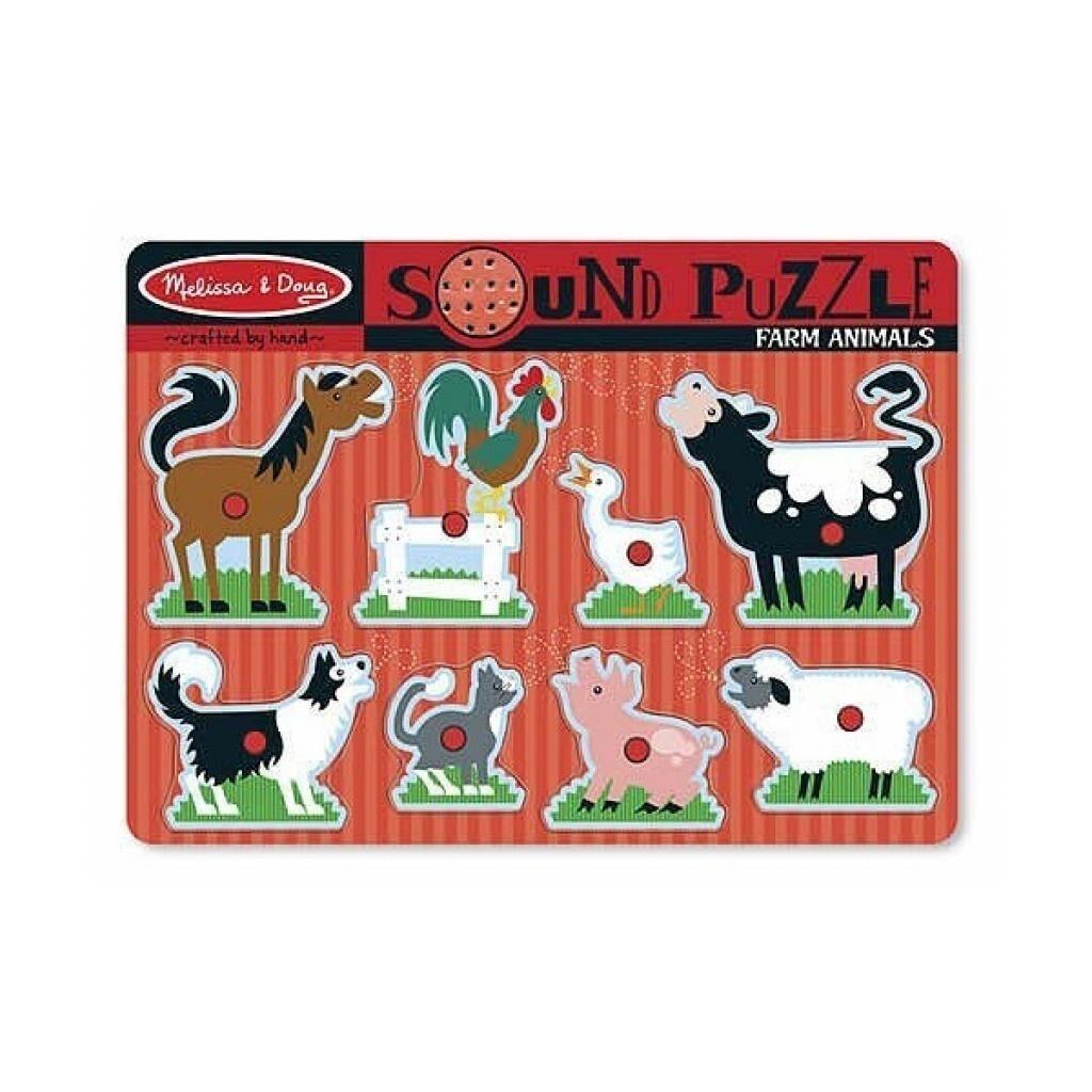 Развивающая игрушка Melissa&Doug Животные на ферме (MD726)