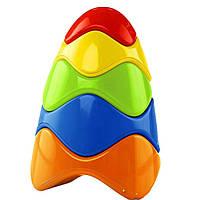 Развивающая игрушка Kids II Красочная пирамидка (81106), фото 1
