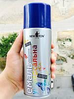Краска аэрозоль Глубокая синяя RAL 5003 400 мл (New Ton)