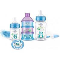 Набор для кормления новорожденных BAYBY 0 мес+ синий (BGS6201)